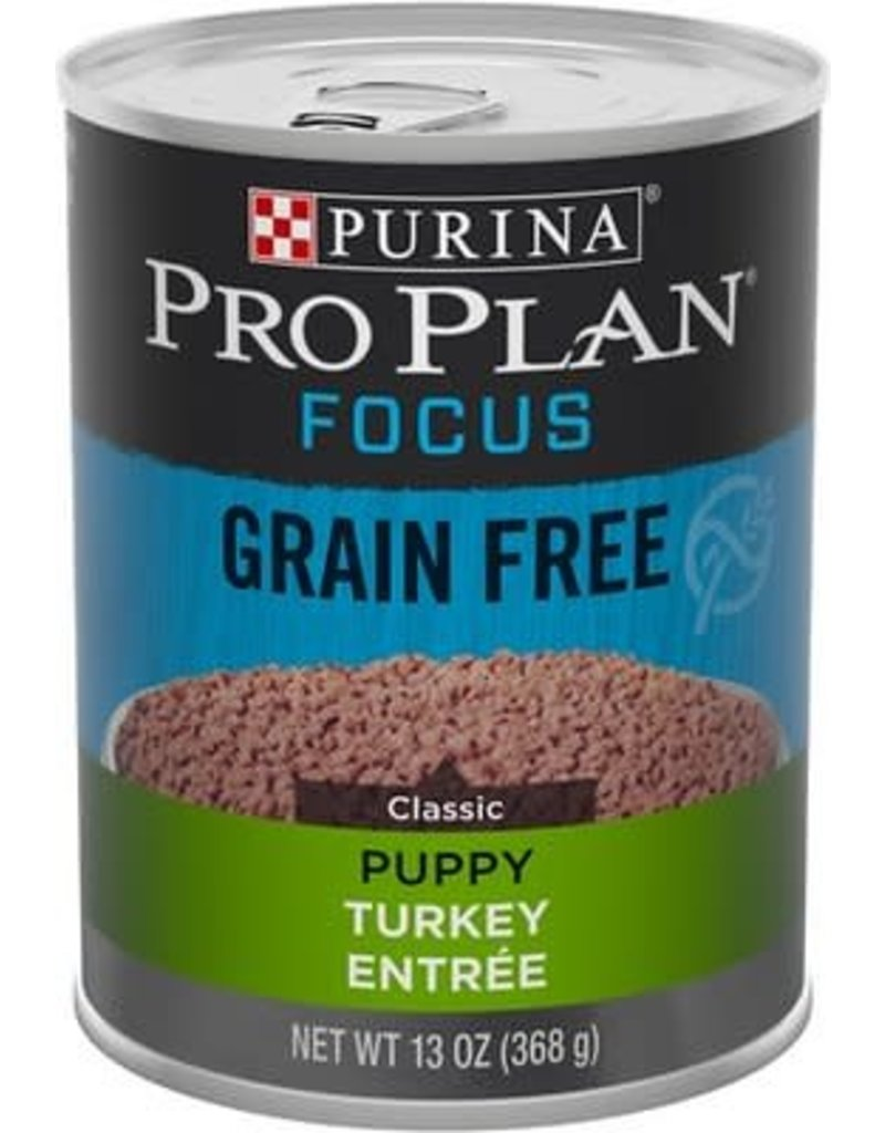 PURINA PURINA PRO PLAN Focus Turkey and Rice Canned Puppy Food  Case 12/13oz