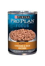 Nestle PURINA PRO PLAN Focus Chicken and Rice Canned Puppy Food  Case 12/13oz