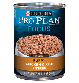 PURINA ARLGP URGENT NEED: PURINA PRO PLAN Focus Chicken and Rice Canned Puppy Food  Case 12/13oz