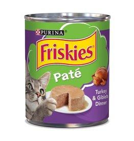 Nestle FRISKIES Classic Pate Turkey Canned Cat Food Case 12/13oz.