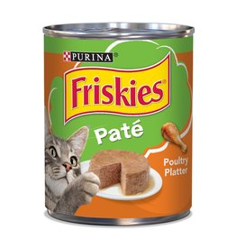 Nestle FRISKIES Classic Pate Poultry Canned Cat Food Case 12/13oz.
