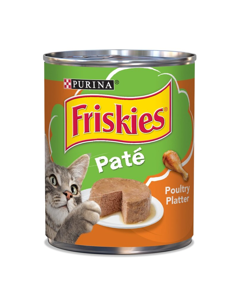 PURINA FRISKIES Classic Pate Poultry Canned Cat Food Case 12/13oz.