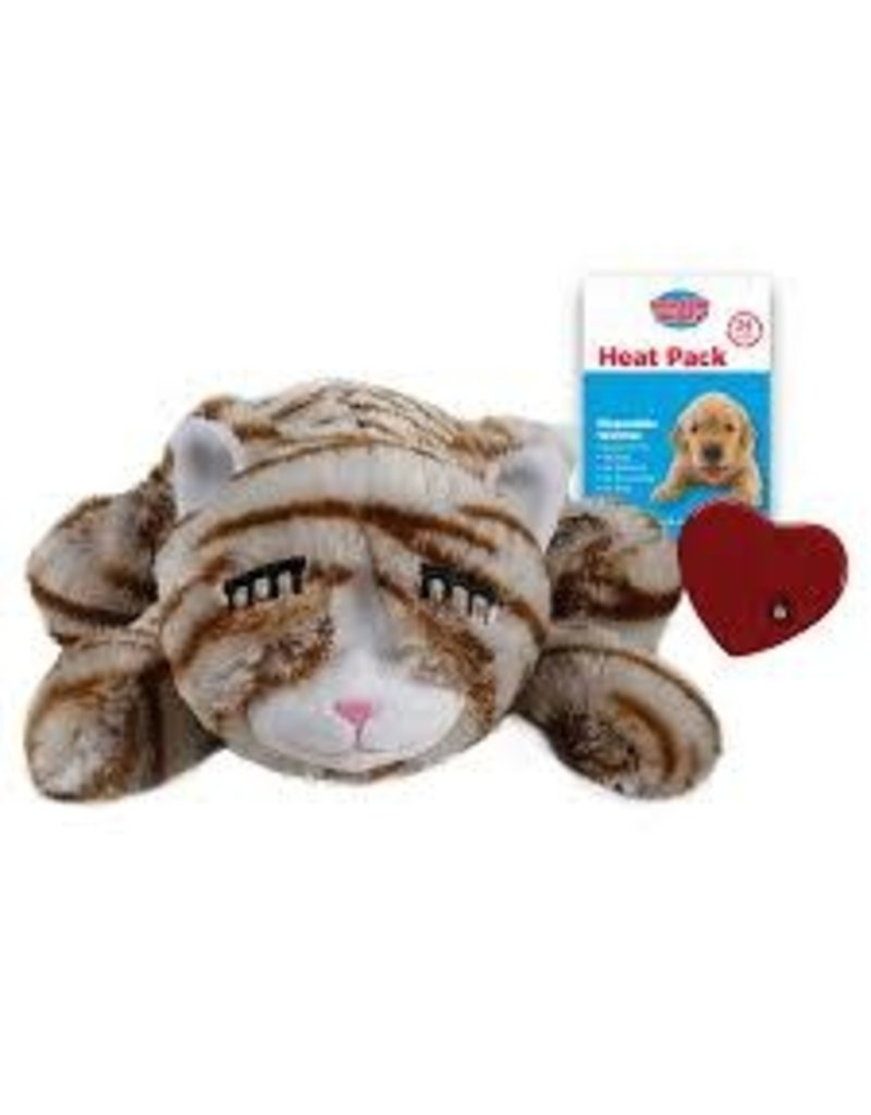 SmartPetLove The Snuggle Kitty Tan Tiger