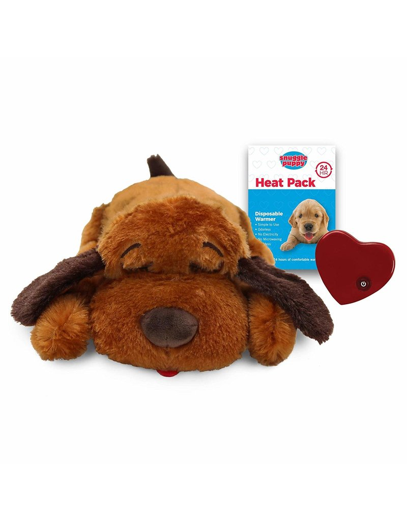 SmartPetLove The Snuggle Puppy Brown Mutt