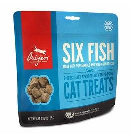 ORIJEN ORIJEN Freezedried 6 Fish Treat for Cats 1.25 oz.