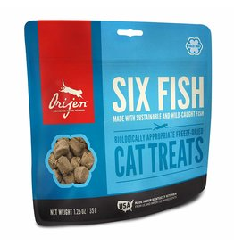 ORIJEN ORIJEN Freezedried Six Fish Treat for Cats 1.25 oz.