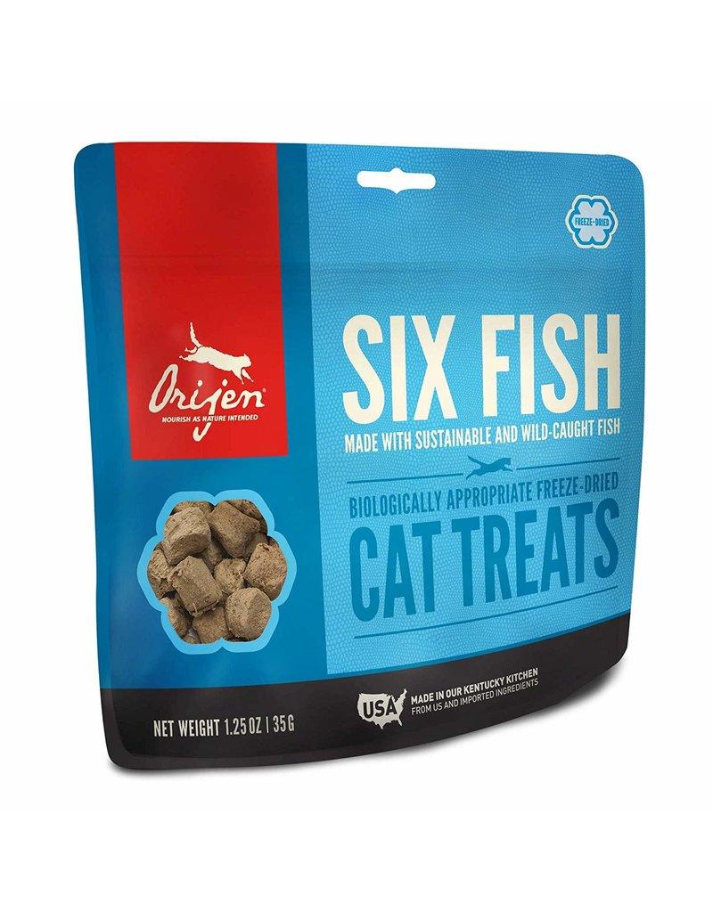 ORIJEN ORIJEN Freezedried Six Fish Treat for Cats 1.25 oz.