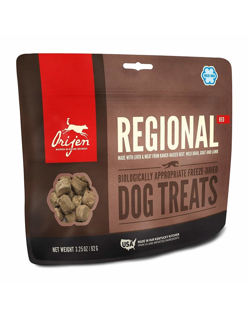 ORIJEN ORIJEN Freezedried Regional Red Dog Treat