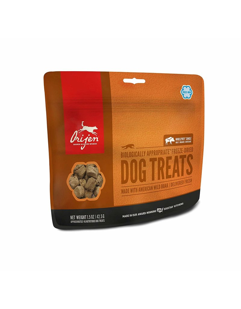ORIJEN ORIJEN Freezedried Wild Roaming Boar Dog Treat