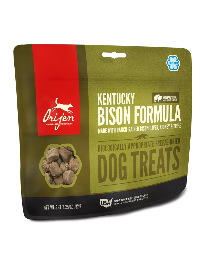 ORIJEN ORIJEN Freeze-dried Kentucky Bison Dog Treat