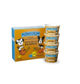 BEAR & RAT THE BEAR & THE RAT Frozen Yogurt Dog Treat Pumpkin 4/pk