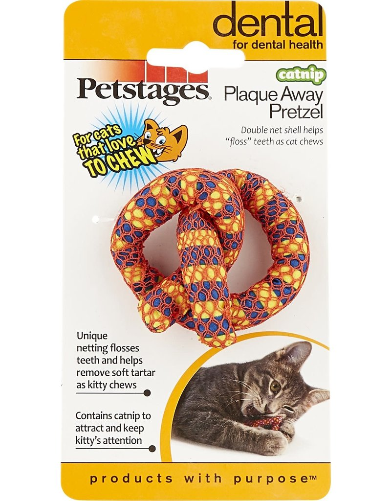 PETSTAGES PETSTAGES Catnip Plaque Away Pretzel