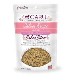 CARU CARU Soft n' Tasty Baked Bites Cat Treats Salmon 3oz