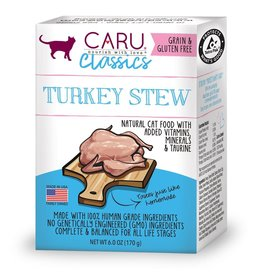 CARU CARU Cat Food Classic Turkey Stew 6 oz