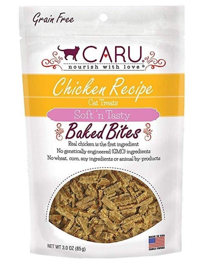 CARU CARU Soft n' Tasty Baked Bites Cat Treats Chicken 3oz