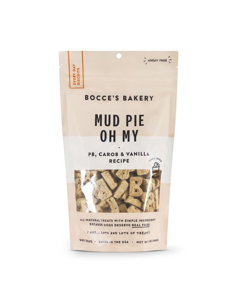 Bocce BOCCE'S Dog Biscuits Mud Pie Oh My 12OZ