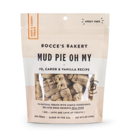 Bocce BOCCE'S Soft and Chewy Mud Pie Oh My Dog Treat 6OZ