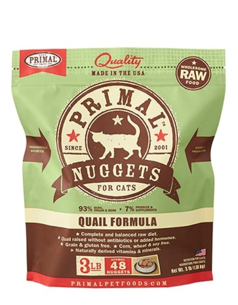 Primal Pet Foods PRIMAL Frozen Raw Feline Quail Formula 3 lb.