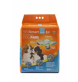 WizSmart WIZSMART Dog Training Pads Super 50PK