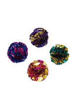 COASTAL PET PRODUCTS Turbo Krinkle Balls Cat Toy 1.5""