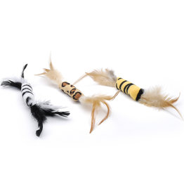 COASTAL PET PRODUCTS ARLGP CAT TOY DRIVE:  Turbo Feather Cat Toy