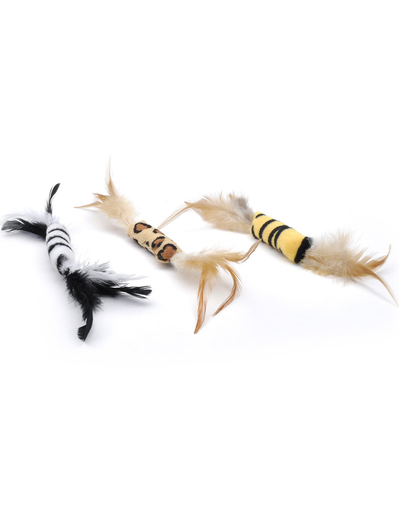 COASTAL PET PRODUCTS Turbo Feather Cat Toy