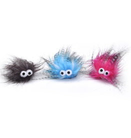 "COASTAL PET PRODUCTS Turbo Plush Monsters 5"" Cat Toy"