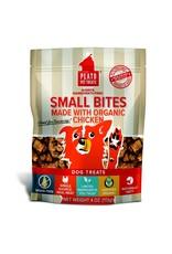 Plato Pet Treats !PLATO Small Bites Grain-Free Chicken Dog Treats 4 oz.