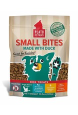Plato Pet Treats PLATO Small Bites Grain-Free Duck Dog Treats 4oz