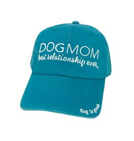 Dog is Good DOG IS GOOD Dog Mom Hat Turquoise