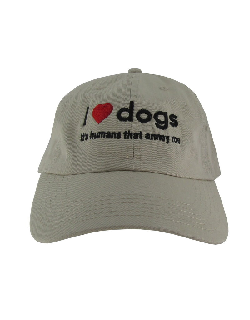 SPOILED ROTTEN DOGZ Humans Annoy Me Hat