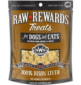Northwest Naturals NORTHWEST NATURALS Freezedried Bison Liver Treat 3 oz