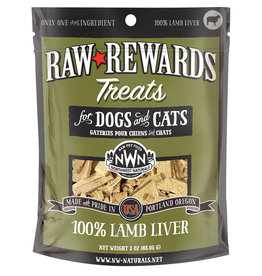 Northwest Naturals NORTHWEST NATURALS Freezedried Lamb Liver Treat 3 oz