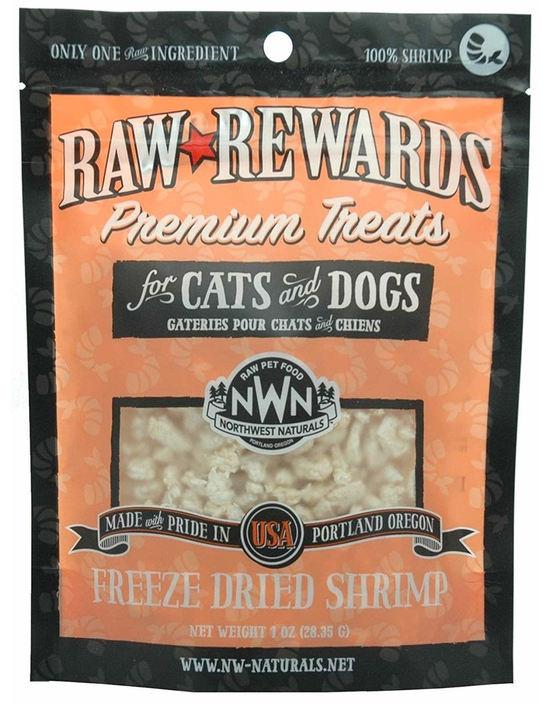 Northwest Naturals NORTHWEST NATURALS Freezedried Shrimp Treat 1 oz