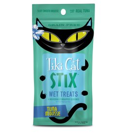 TIKI TIKI Cat Stix Mousse Tuna Cat Treat 3oz