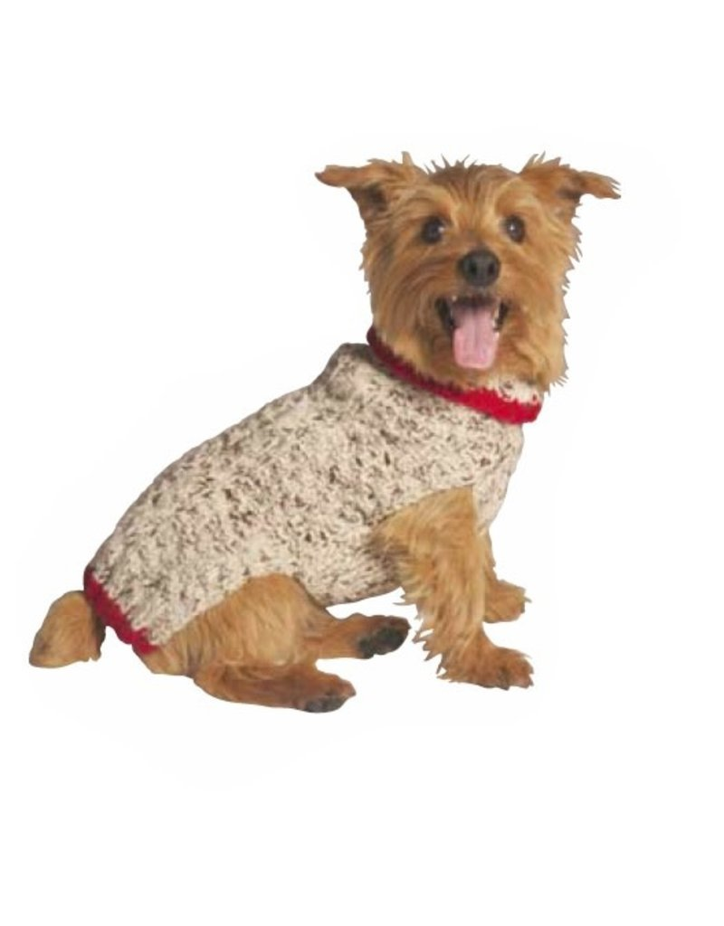 Chilly Dog Sweaters CHILLY DOG Oatmeal Sweater