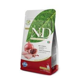 Farmina FARMINA Natural & Delicious Prime Grain-Free Chicken & Pomegranate Kitten Dry Cat Food