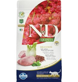 Farmina FARMINA Natural & Delicious Functional Lamb, Quinoa, Fennel & Mint Digestion Formula Dry Cat Food 3.3 lb