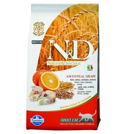 Farmina FARMINA Natural & Delicious Wild Cod Ancestral Low-Grain Formula Dry Cat Food