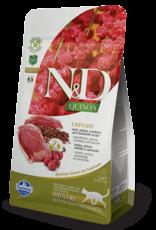 Farmina FARMINA Natural & Delicious Urinary Duck, Cranberry & Chamomile Functional Quinoa Formula Dry Cat Food 3.3 lb