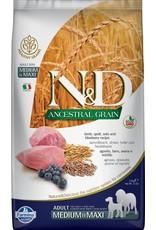 Farmina FARMINA Ancestral Grain Pumpkin Lamb & Blueberry Adult Medium & Maxi