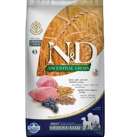 Farmina FARMINA Ancestral Grain Pumpkin Lamb & Blueberry Adult Medium & Maxi