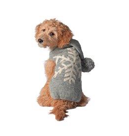 Chilly Dog Sweaters CHILLY DOG Alpaca Snowflake Hoodie Sweater