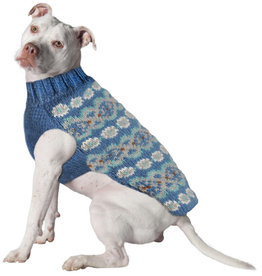 Chilly Dog Sweaters CHILLY DOG Teal Alpaca Sweater
