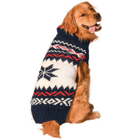 Chilly Dog Sweaters CHILLY DOG Navy Vail Sweater