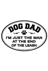 SPOILED ROTTEN DOGZ Dog Dad Car Magnet