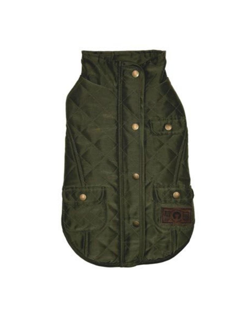 Fab Dog FAB DOG Olive Quilted Barncoat