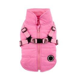PUPPIA PUPPIA Mountaineer Coat II with Harness Pink