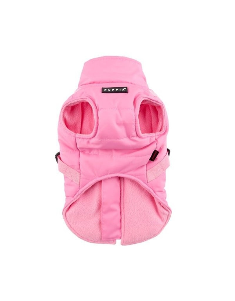 PUPPIA PUPPIA Mountaineer Coat II with Harness Pink