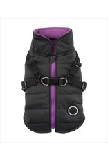 PUPPIA PUPPIA Mountaineer Coat II with Harness Black